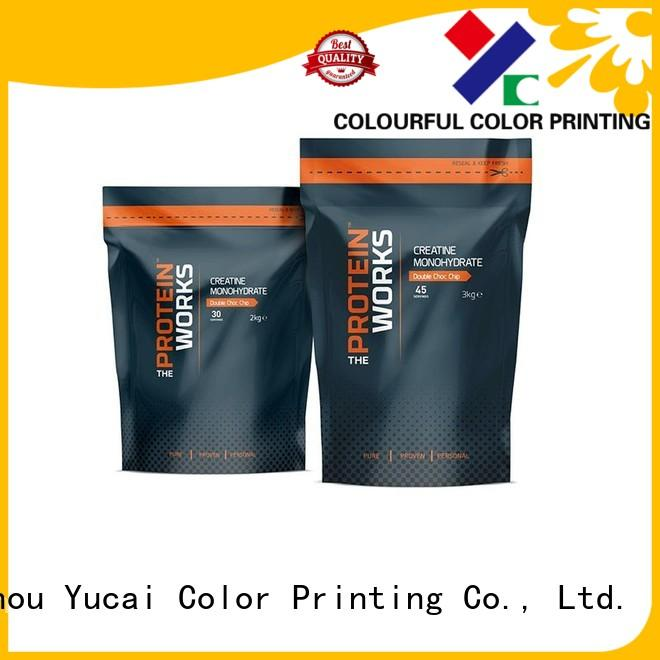 wholesale food packaging printed Bulk Buy pouches Yucai