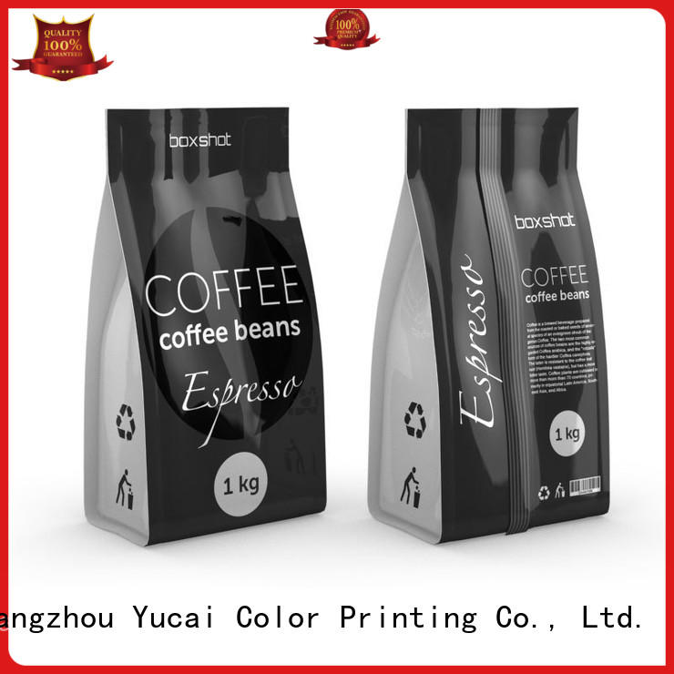 coffee bags wholesale stand for commercial Yucai