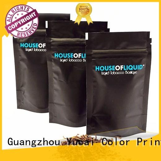 stable stand up bags supplier for food Yucai