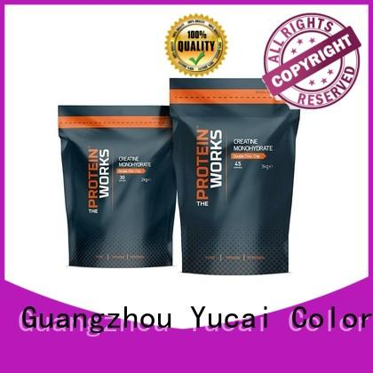 Yucai food packaging bag factory for commercial