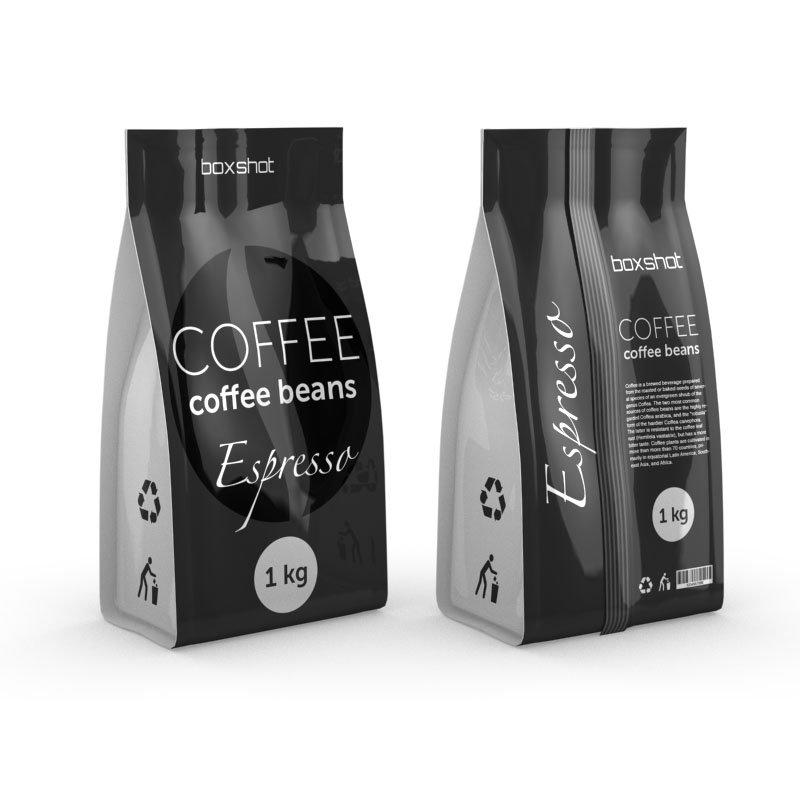 Coffee & Tea Packaging With Stand Up Pouches