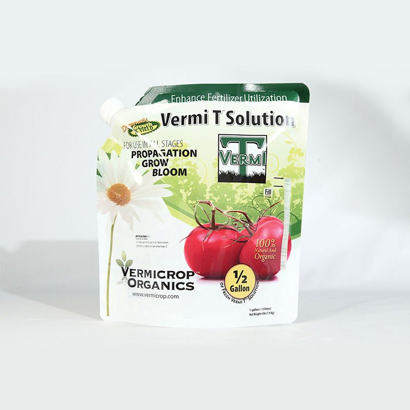 Yucai Fertilizer Packaging with Stand Up Bag Fertilizer Packaging image3