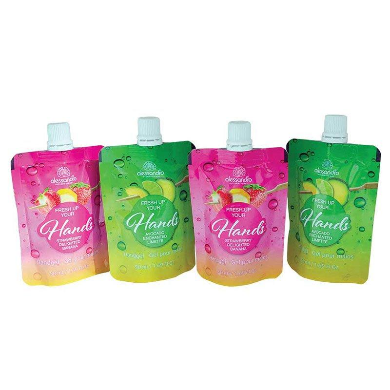 Detergent Packaging And Liquid Soap Packaging With Stand Up Bags