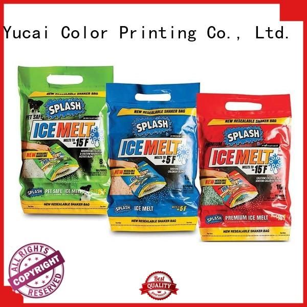 Yucai plastic packaging with good price for industry