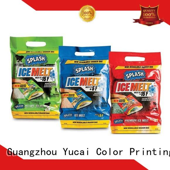 Yucai approved plastic bag with spout for drinks