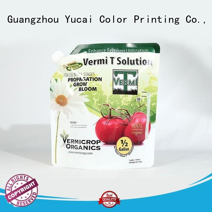 stand up pouches wholesale for food Yucai