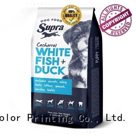 Wholesale plastic pet food packaging Yucai Brand