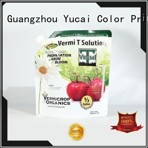 packaging Anti-corrosion Grade Yucai Brand fertilizer packaging factory