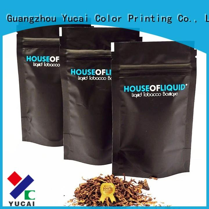 Yucai pipe pipe tobacco bags wholesale for industry
