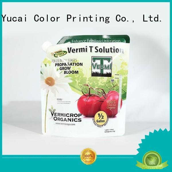 Wholesale packaging fertilizer packaging Yucai Brand