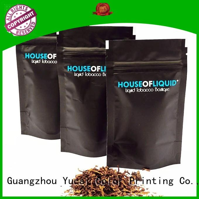 pipe tobacco bags tobacco packaging tobacco pouch Food grade company