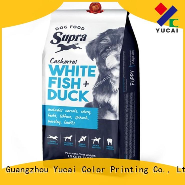 Food grade pet food bag packaging food Yucai Brand