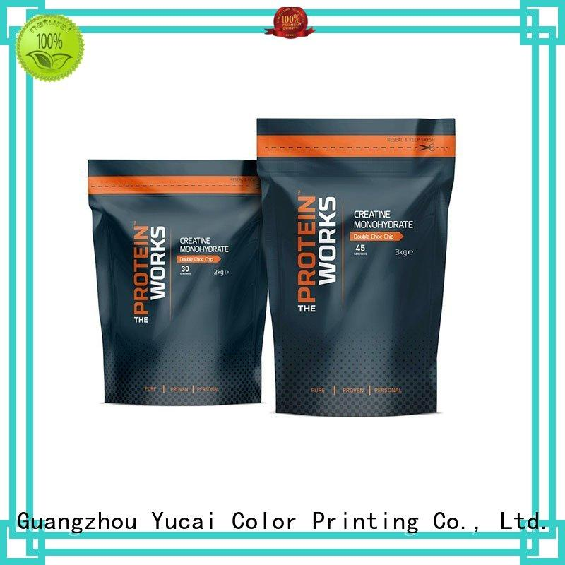 Custom printed food packaging supplies pouches Yucai