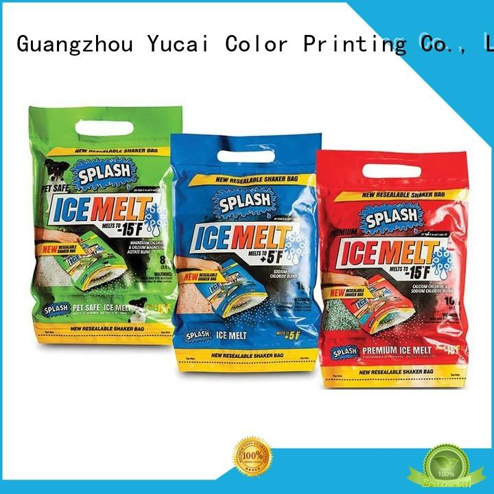 Yucai plastic packaging with good price for drinks