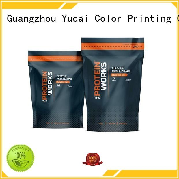 food pouches food packaging supplies Yucai Brand