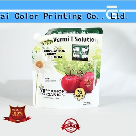 durable fertilizer packaging manufacturer for food