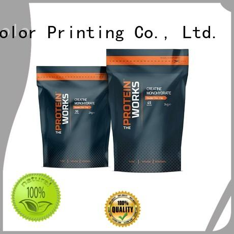 Food Packaging with Printed Stand Up Pouches