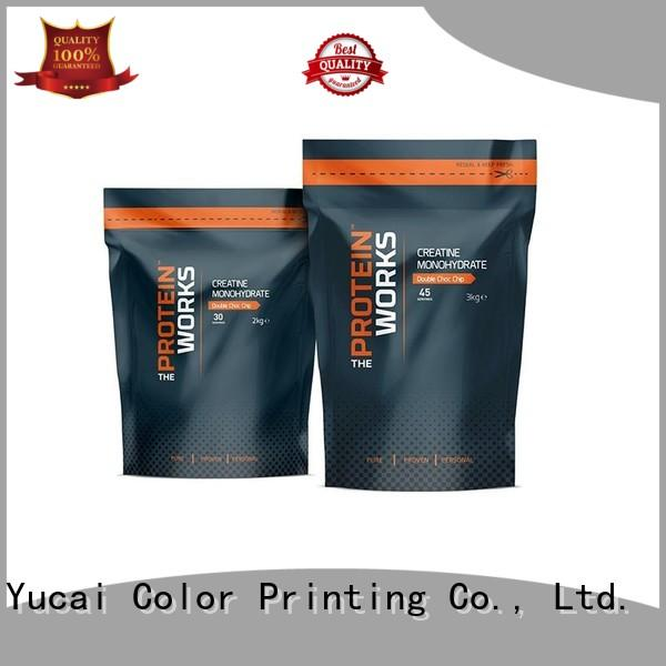 Yucai efficient food packaging bags with good price for food