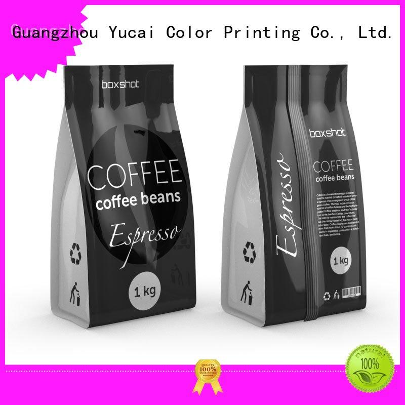 Yucai quality coffee bags wholesale supplier for drinks