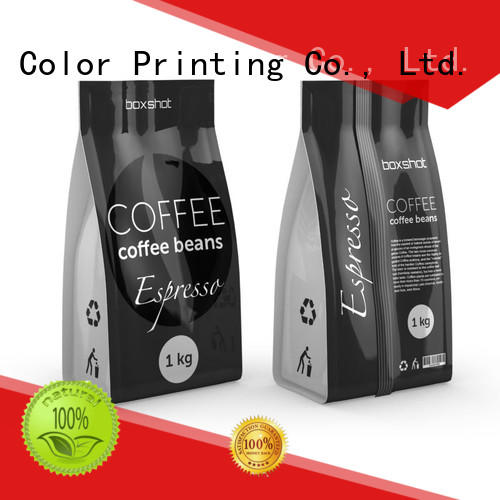 coffee spouted Yucai Brand tea packaging