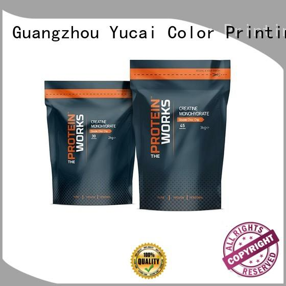 Yucai top quality food packaging bags with good price for drinks