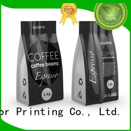 Food grade Custom packaging tea packaging spouted Yucai
