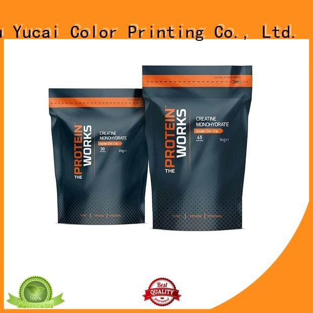 Yucai printed food packaging bag design for commercial