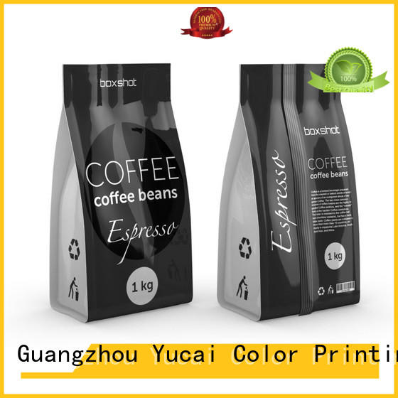 professional custom coffee bags wholesale supplier for drinks Yucai