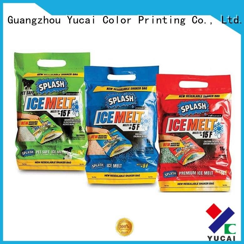 Yucai plastic packaging with good price for food