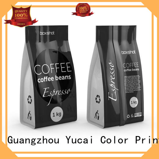 sturdy coffee bags wholesale supplier for food