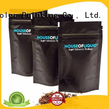 Yucai certificated bag of tobacco personalized for industry