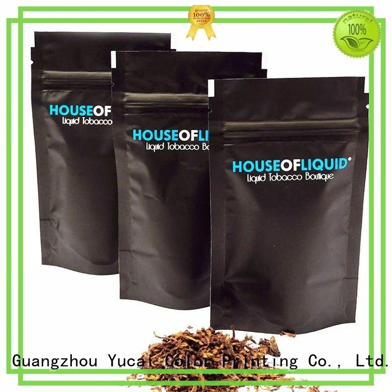 professional bag of tobacco factory price for drinks