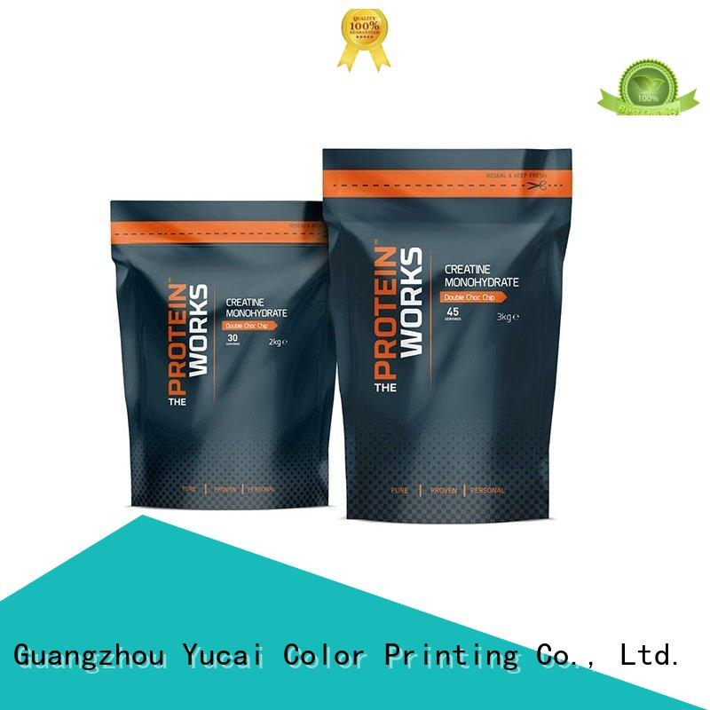 wholesale food packaging with good price for industry Yucai