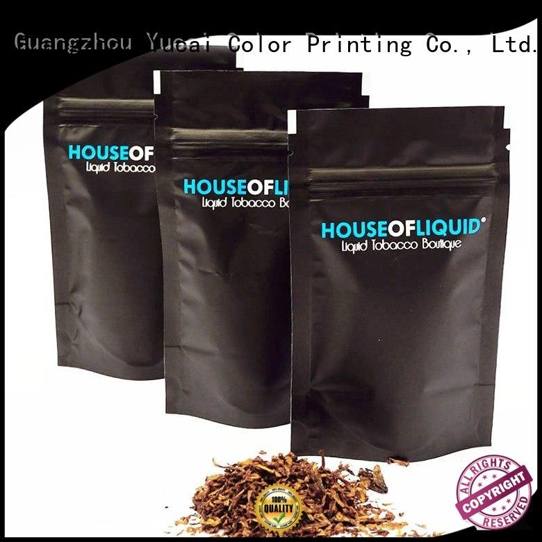pipe tobacco bags tobacco packaging pipe Yucai Brand company