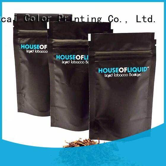 Yucai certificated tobacco bags supplier for commercial