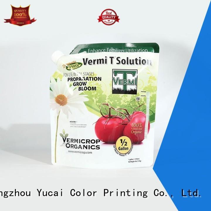 reliable fertilizer packaging manufacturer for drinks