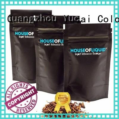 Yucai certificated tobacco pouch supplier for industry