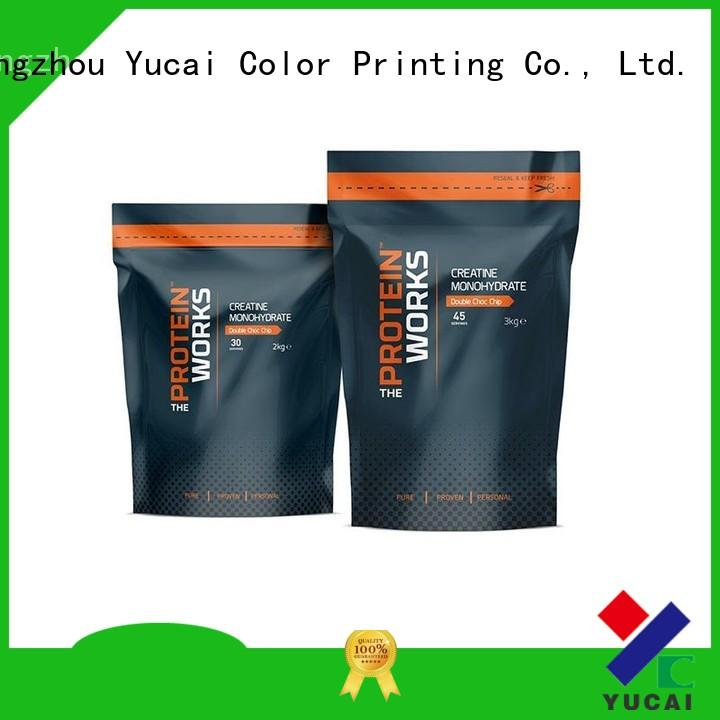 Yucai food packaging bag with good price for commercial