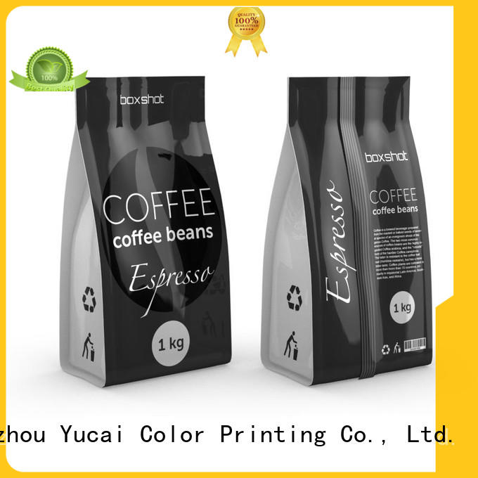 Yucai quality tea packaging factory price for food