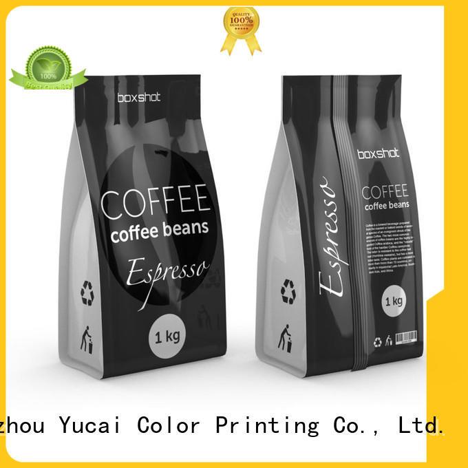 custom printed coffee bags for food Yucai