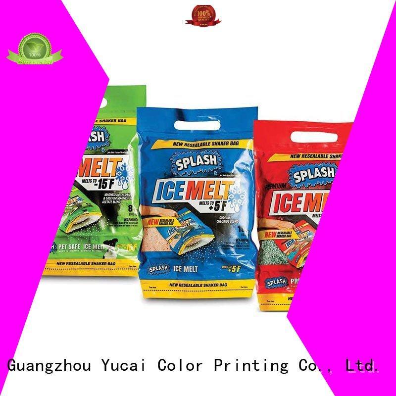 Custom stand detergent packaging detergent Yucai