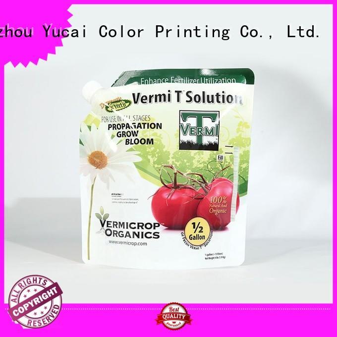 Yucai practical fertilizer packaging manufacturer for commercial