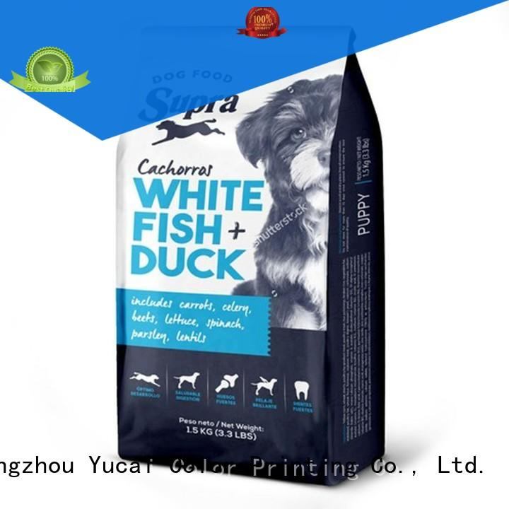 Yucai plastic packing bags series for commercial