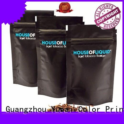 Yucai Brand pipe Food grade custom pipe tobacco bags