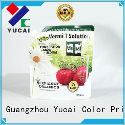 Yucai fertilizer packaging customized for food