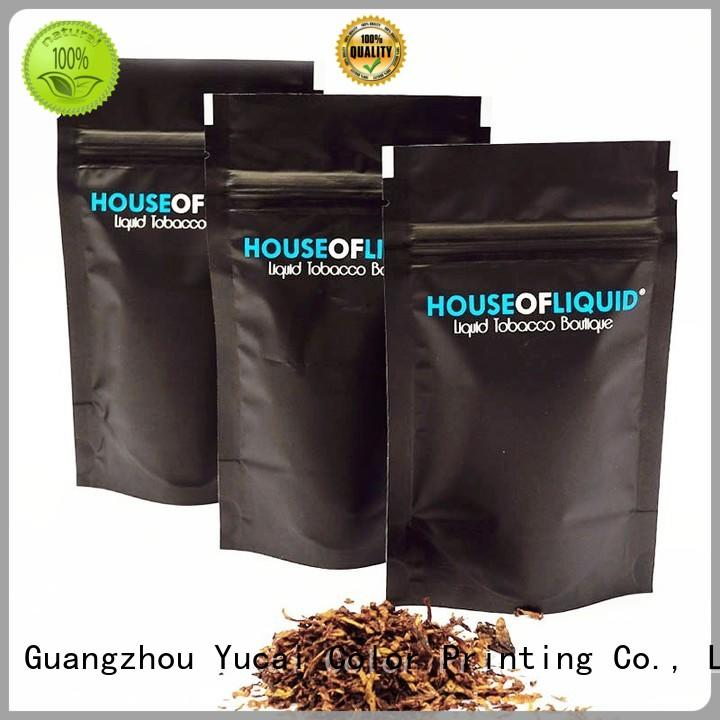 Yucai professional tobacco pouch supplier for industry
