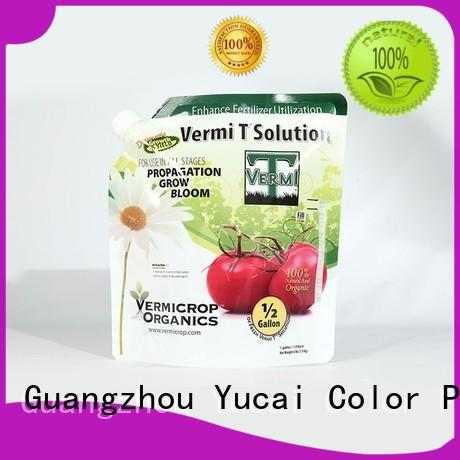 Yucai reliable fertilizer packaging directly sale for food
