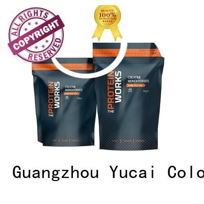 pouches Food grade Yucai Brand wholesale food packaging