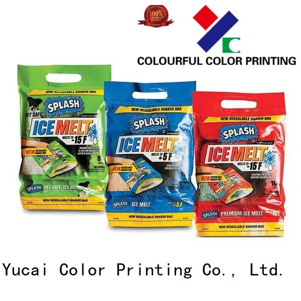 Yucai Brand liquid spouted detergent packaging stand factory