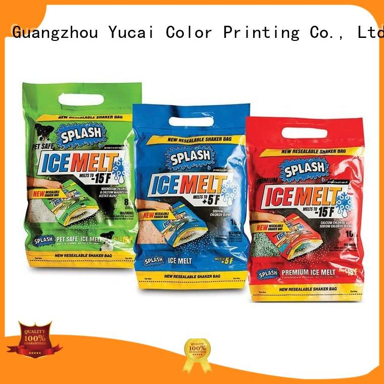 Yucai efficient detergent packaging with good price for drinks
